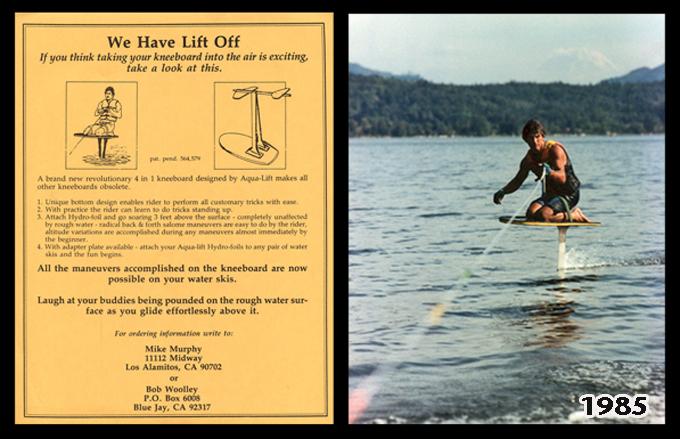 Kneeboard Hydrofoil